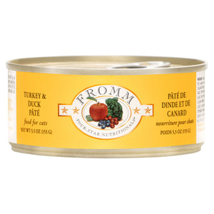 Fromm Four-Star Nutritionals Grain-Free Turkey & Duck Pâté Wet Cat Food-Le Pup Pet Supplies and Grooming