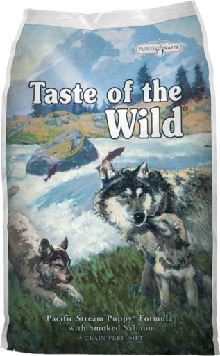 Taste of the Wild Pacific Stream Puppy Recipe Grain-Free Dry Dog Food-Le Pup Pet Supplies and Grooming