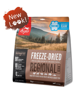Orijen Regional Red Biologically Appropriate Freeze-Dried Raw Grain-Free Dog Food-Le Pup Pet Supplies and Grooming