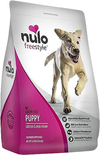 Nulo Freestyle Salmon & Peas Recipe Grain-Free Puppy Dry Dog Food-Le Pup Pet Supplies and Grooming
