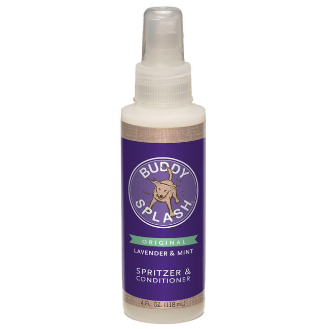 Buddy Biscuits Buddy Splash Lavender & Mint Spritzer & Conditioner Dog Supply, 4fl.oz.-Le Pup Pet Supplies and Grooming