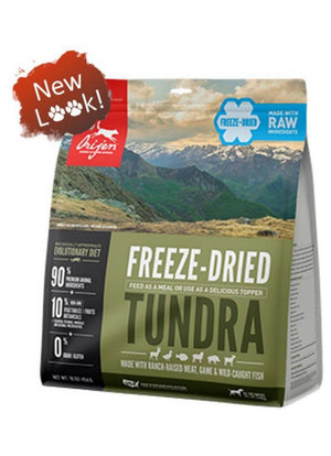 Orijen Tundra Biologically Appropriate Freeze-Dried Raw Grain-Free Dog Food-Le Pup Pet Supplies and Grooming