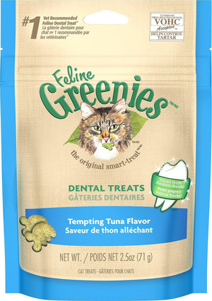 Greenies Feline Tempting Tuna Flavor Dental Cat Treats-Le Pup Pet Supplies and Grooming