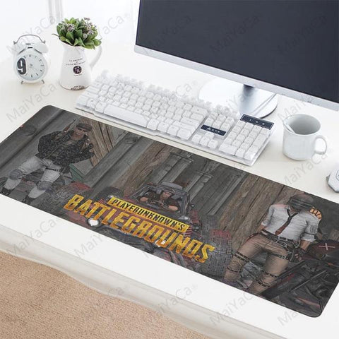 Very Large PUBG Keyboard And Mouse Pad