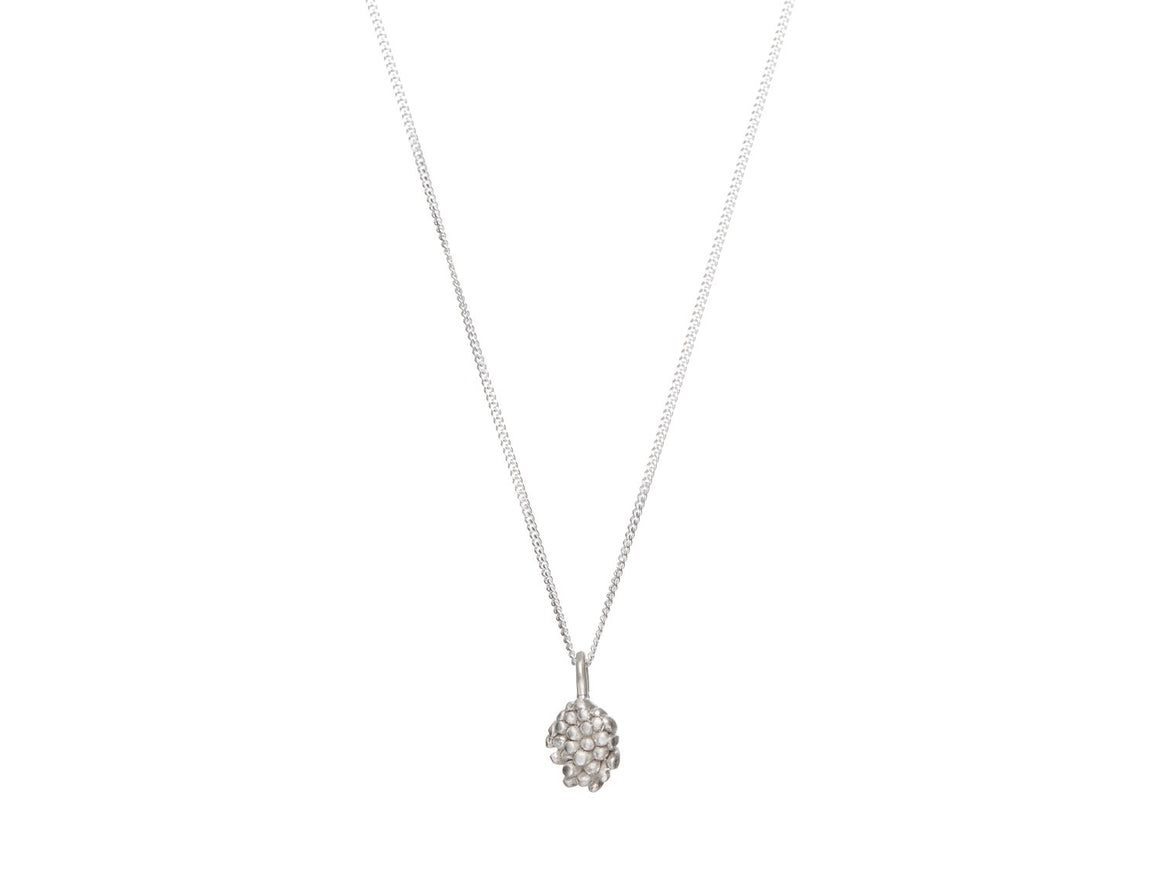 926 // Silver Flora Bud Necklace