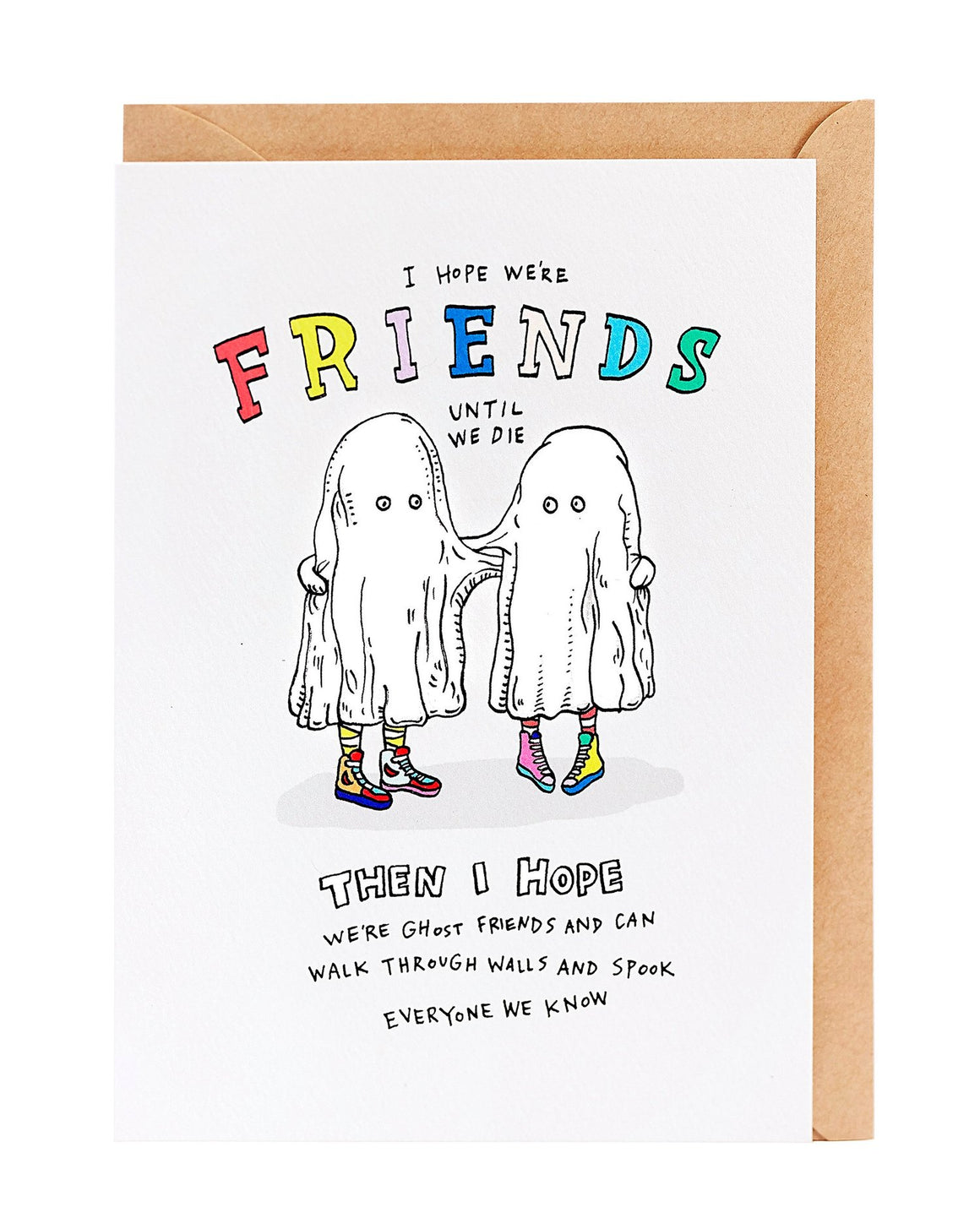 Ghost Friends Card