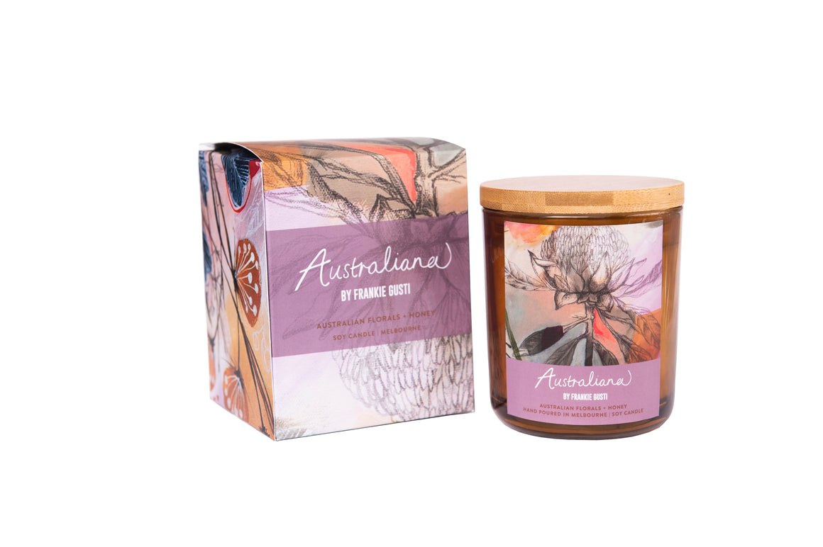 Australian Florals and Honey Soy Candles