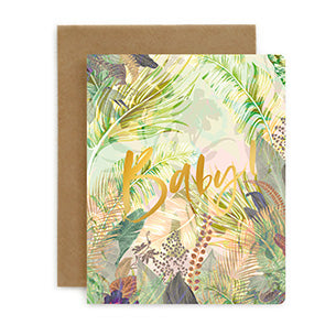 Baby Jungle Card