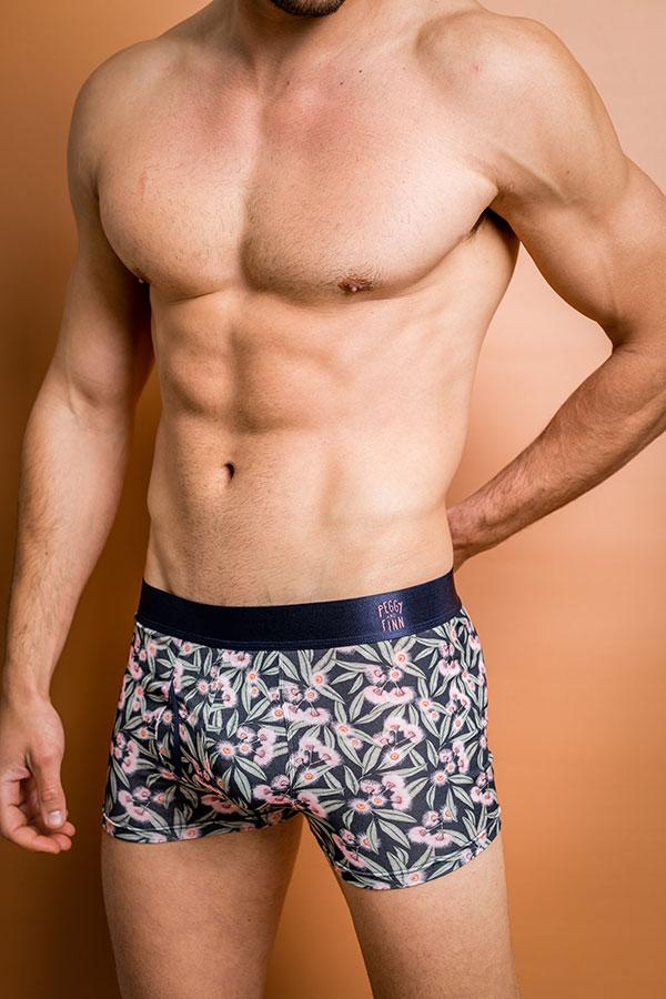 Mens Bamboo Underwear - Flowering Gum