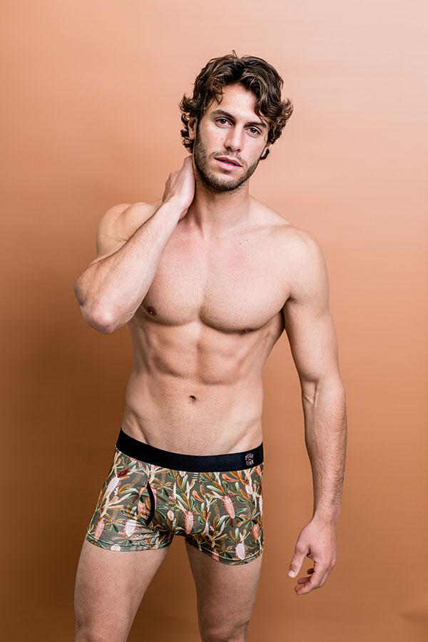 Mens Bamboo Underwear -Grass Tree