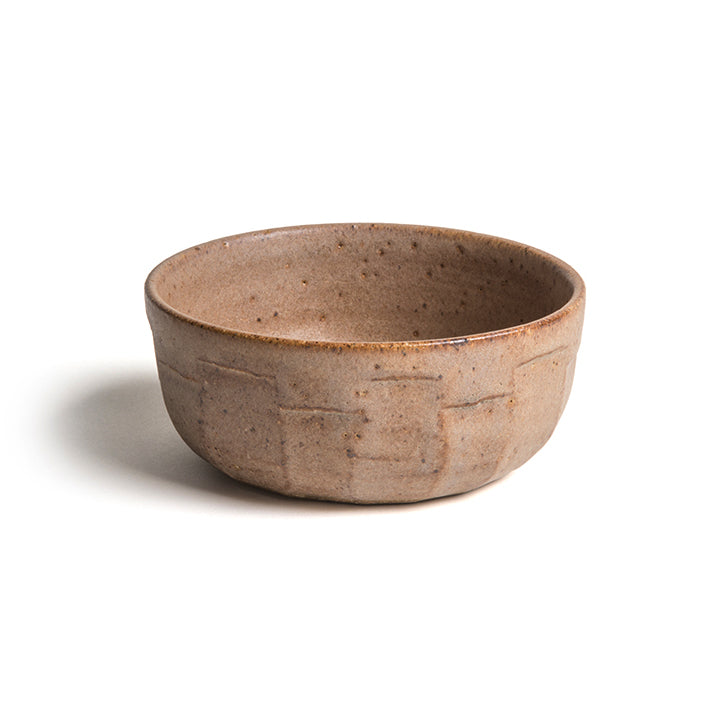 Quarry Bowl in mid brown