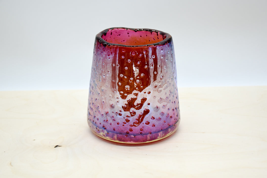 Medium Nailed it Vase  - Plum