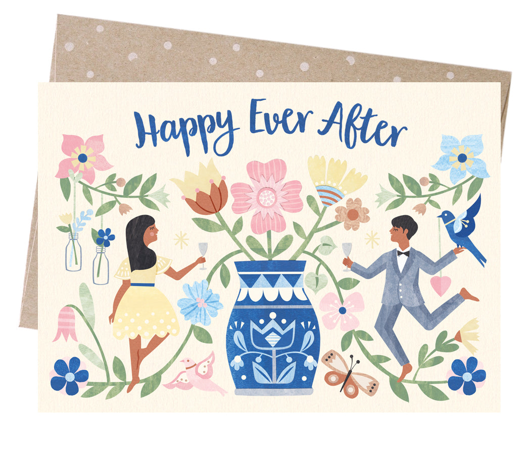 Happy Ever After // Greeting card