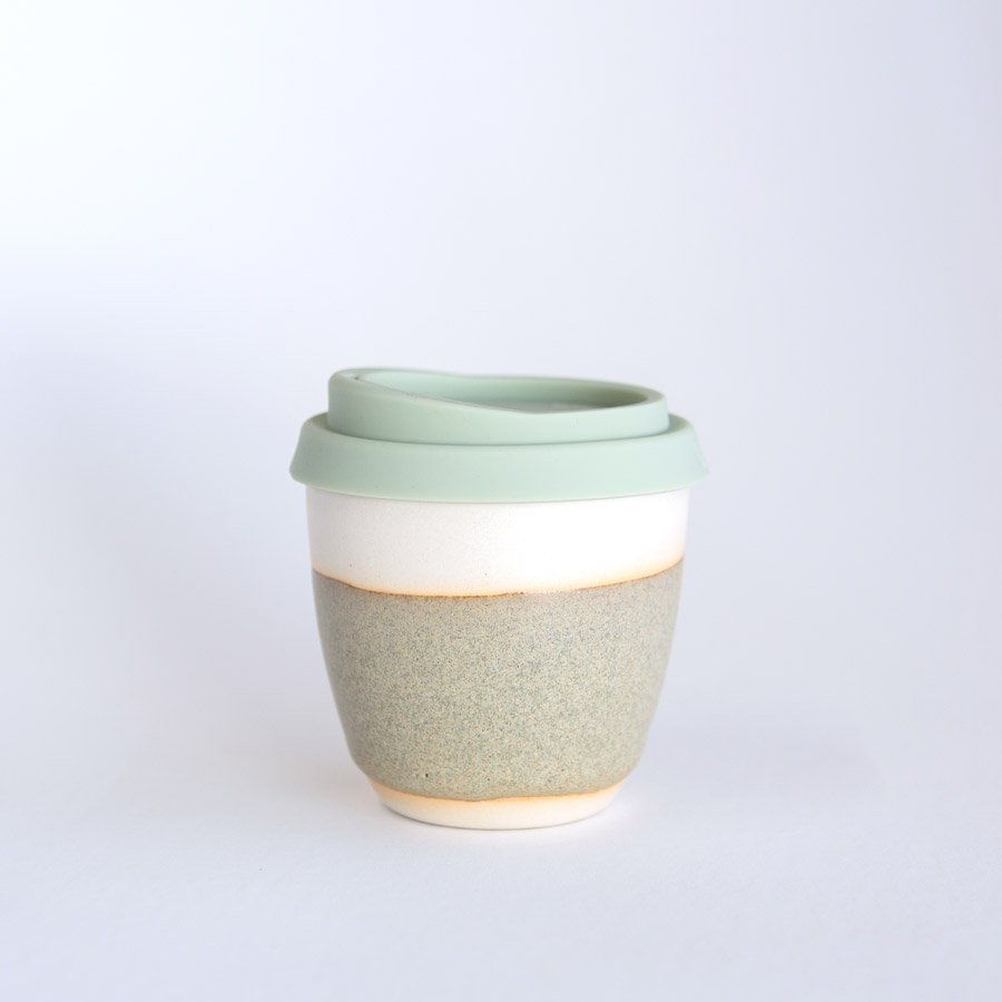 Reusable takeaway cup ~ Riverstone 8oz