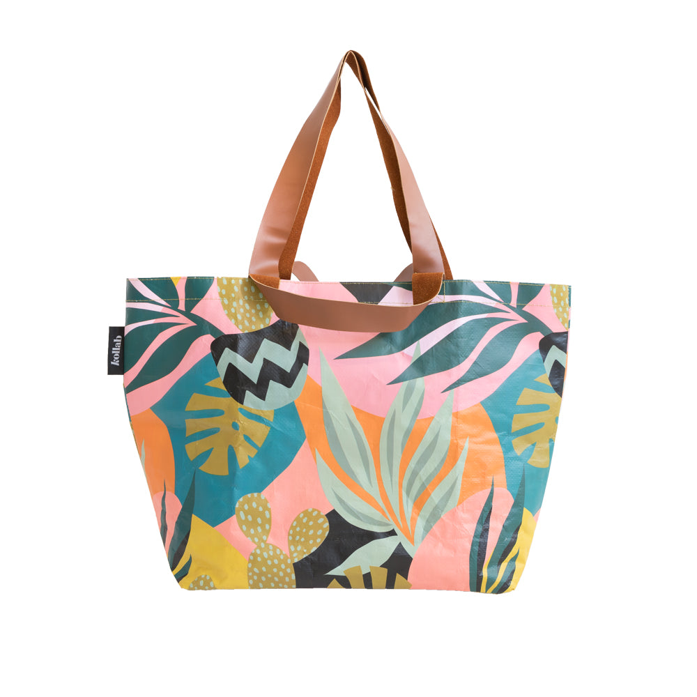 Monstera Shopper Tote