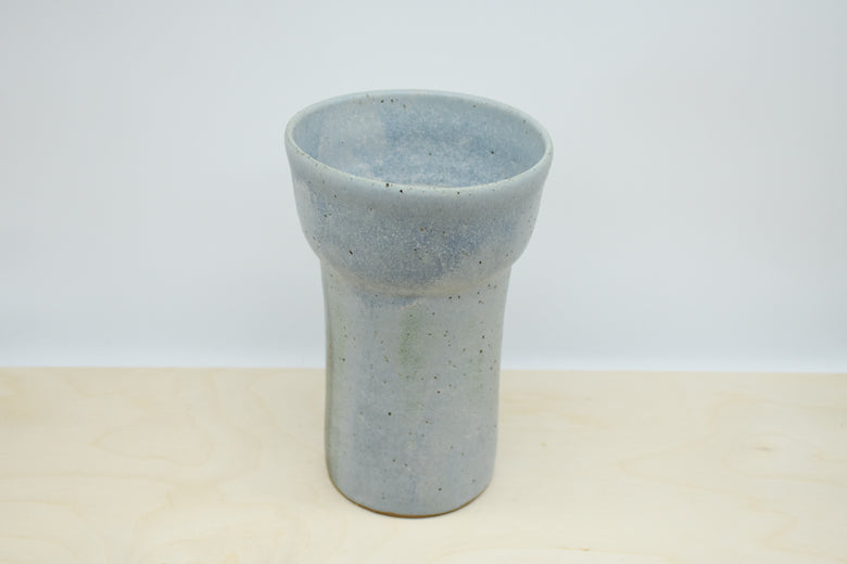 Medium Arrangement Vase - Blue Frost