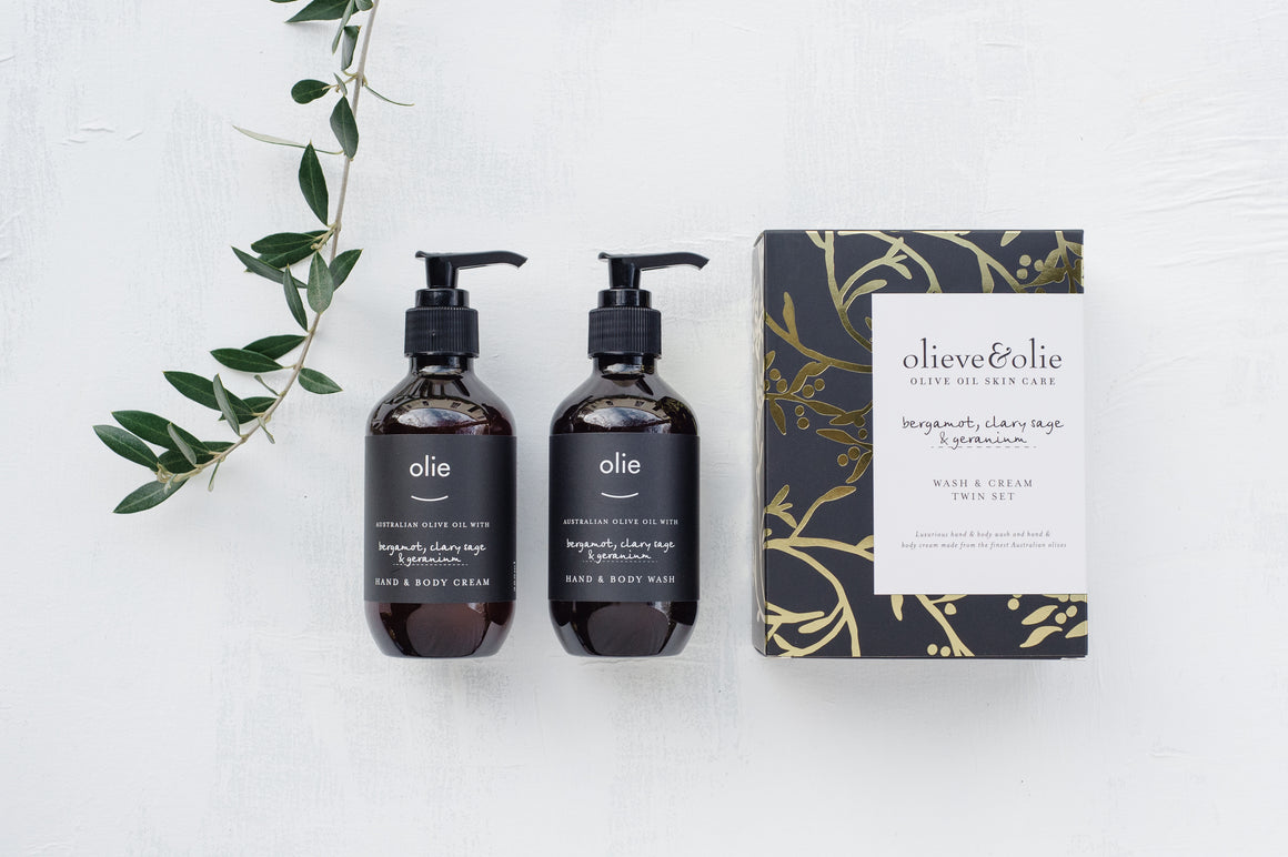Bergamot, Clary Sage and Geranium  - Twin Set Boxed