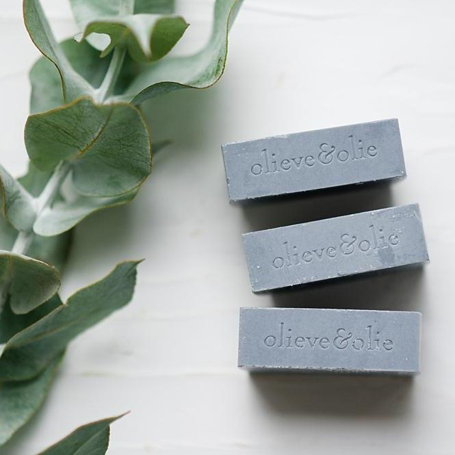 Bergamot, Clary Sage and Activated Charcoal Soap - Pack of 3