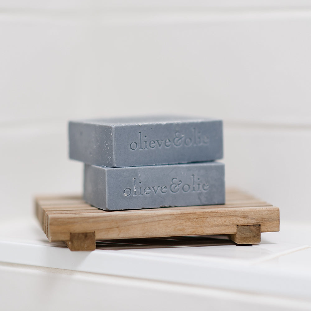 Bergamot, Clary Sage and Activated Charcoal Soap