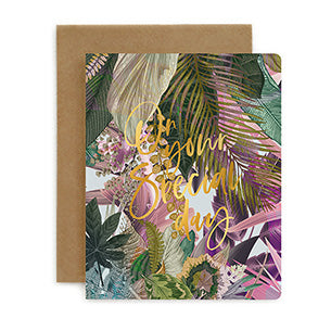 On your Special Day Jungle Card