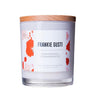 Champagne and Strawberry Wood Lid Soy Candles