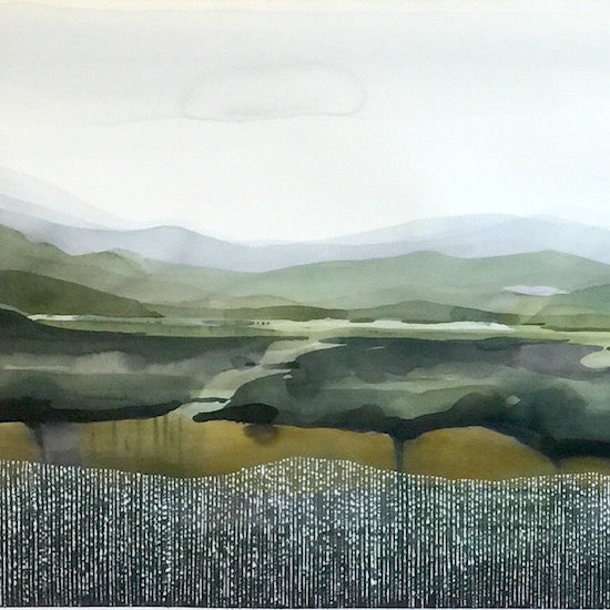Contemporary Landscape Watercolour Workshop