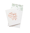 Thoughts Are With You // Greeting Card