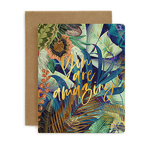 You Are Amazing Jungle Card