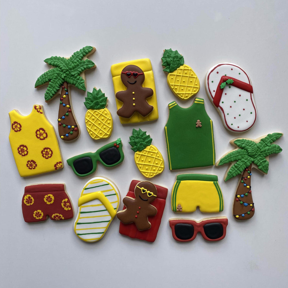 Australian Christmas Cookie Decorating