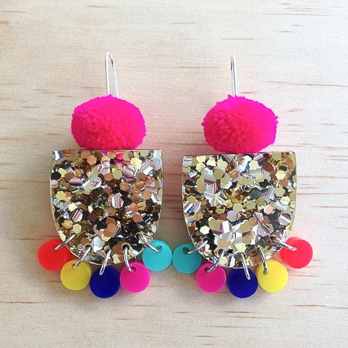 Pom Pae Lush Drop Earrings