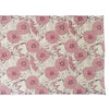 Gum Flower Table Runner - Burgundy
