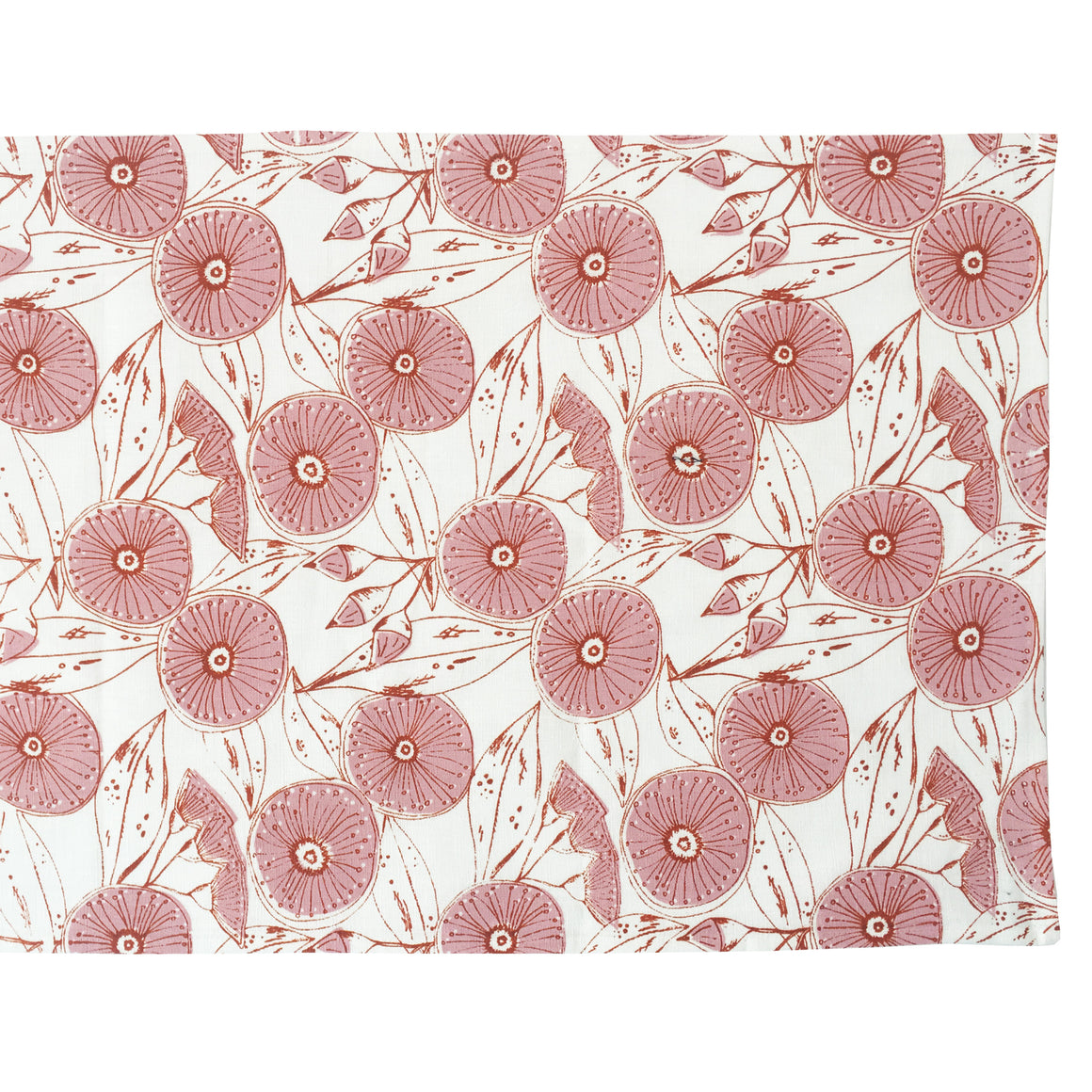 Gum Flower Table Runner - Pink