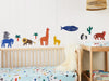 Fabric Wall Decal - World Animals