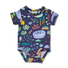 Beach Forest - Short Sleeve Bodysuit