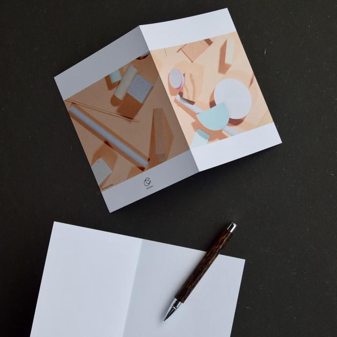 Objects  by Florent Tanet: 3 Notecards