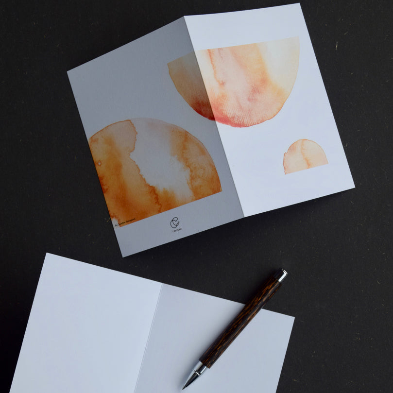 Suns by Josefine Molina: 3 Notecards