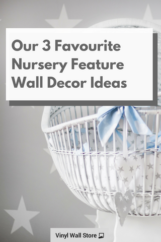nursery feature wall decor