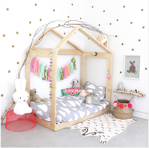 Polka Dot Nursery Decor