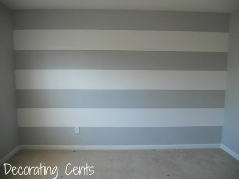 Striped Nursery Wall Decor