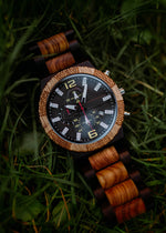 Load image into Gallery viewer, Geneva - Chronograph Wood Watch