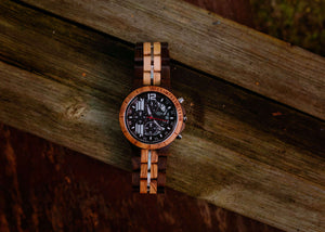 Dublin - Chronograph Wood Watch