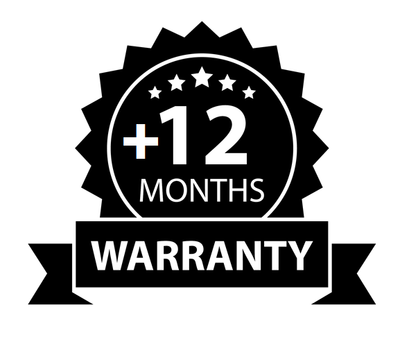+12 Months Warranty - The Wood Look