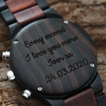 Load image into Gallery viewer, Dublin - Chronograph Wood Watch