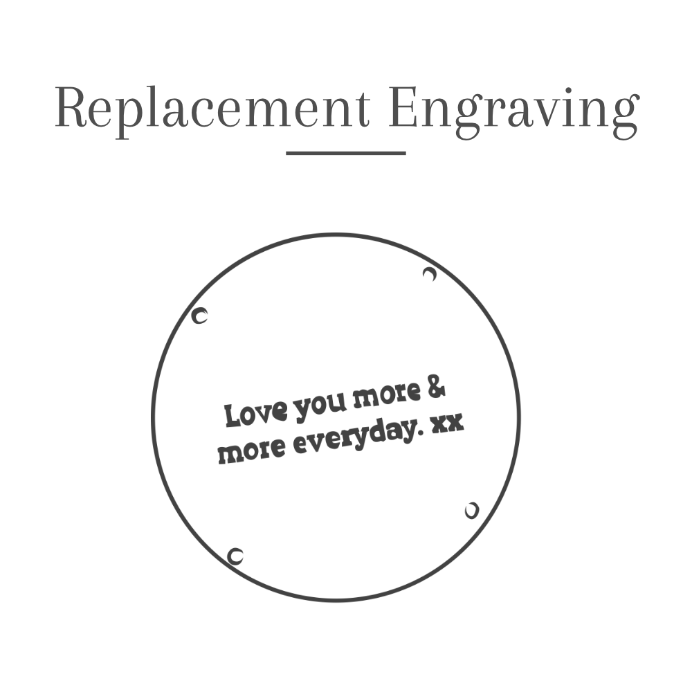 Replacement Engraving