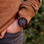 Load image into Gallery viewer, Lisbon - Chronograph Wood Watch