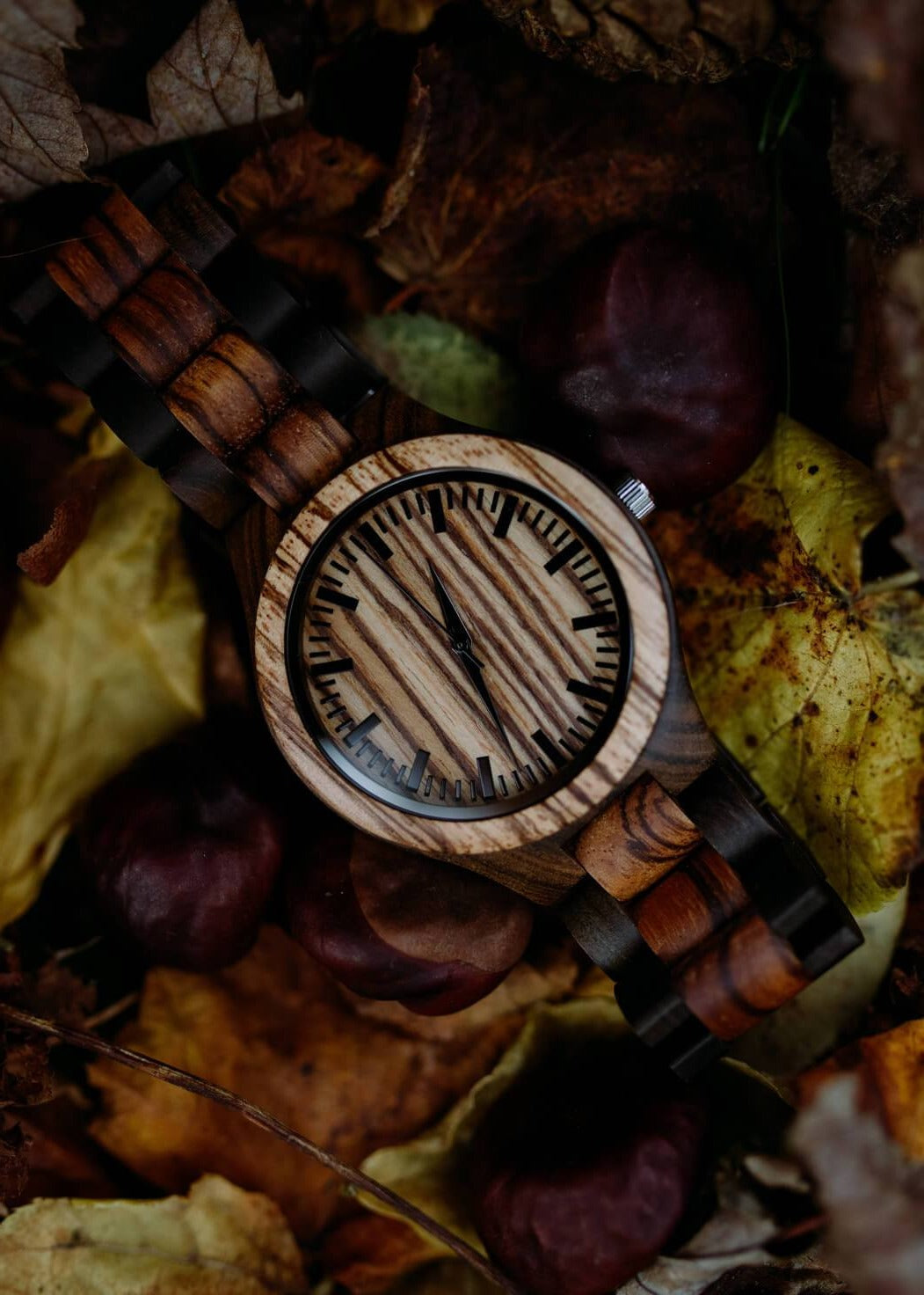 Madrid - Minimalist Wood Watch