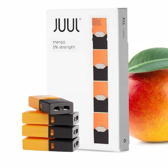 JUUL - REFILL POD - MANGO(4 PACK) - OfficialVapeShop