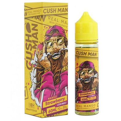 CUSH MAN MANGO STRAWBERRY BY NASTY JUICE E-LIQUID - 60ML - OfficialVapeShop