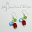 BRITISH SQUARE EARRINGS