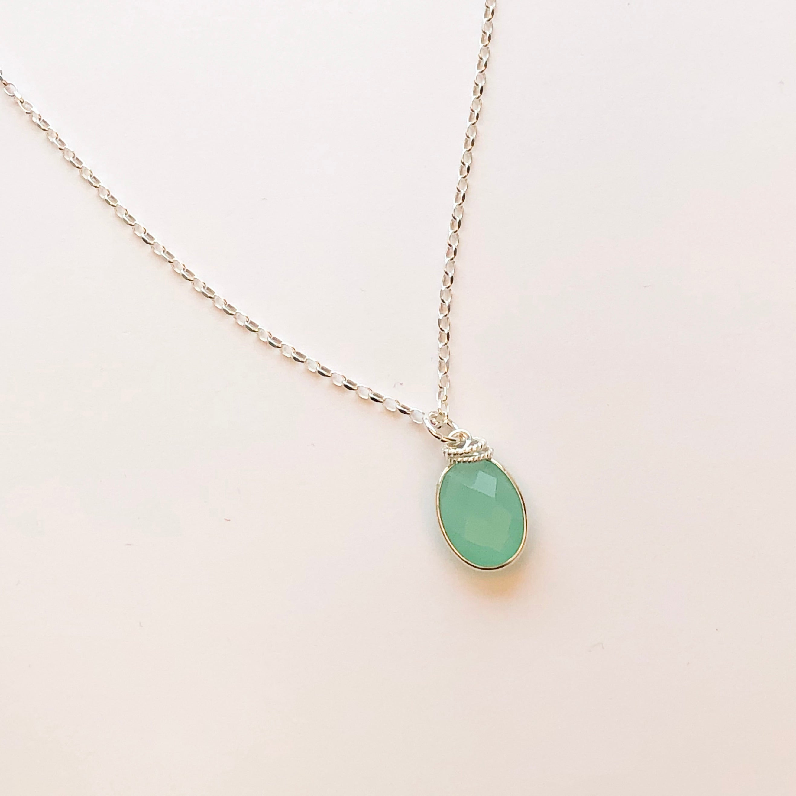 OLIVE NECKLACE - Elizabeth Burry Design